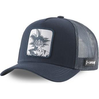 Capslab Son Goku DBZ5 GOK Dragon Ball Navy Blue Trucker Hat