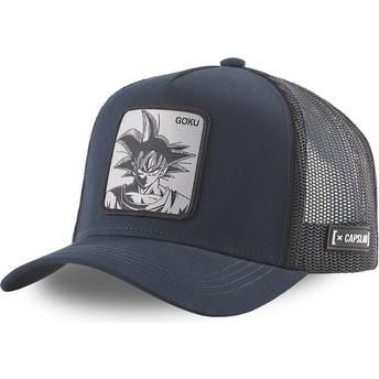 Capslab Son Goku DBZ GOK2 Dragon Ball Navy Blue and Black Trucker Hat