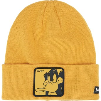 Capslab Daffy Duck BON DUF1 Looney Tunes Yellow Beanie