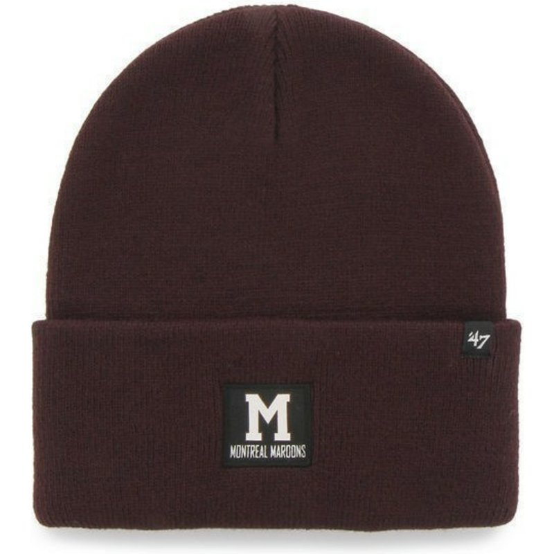 47-brand-montreal-maroons-nhl-red-beanie
