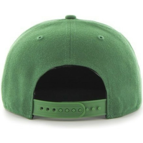 47-brand-flat-brim-new-york-yankees-mlb-sure-shot-green-snapback-cap