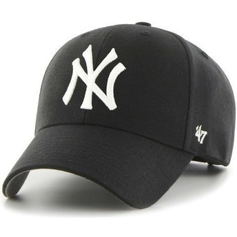 47 Brand Curved Brim New York Yankees MLB Black Cap