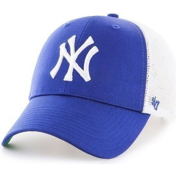 47 Brand MLB New York Yankees Blue Trucker Hat