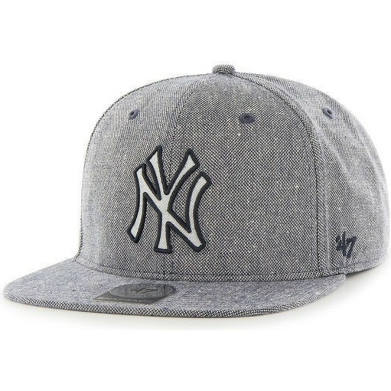 47-brand-flat-brim-denim-mlb-new-york-yankees-navy-blue-snapback-cap