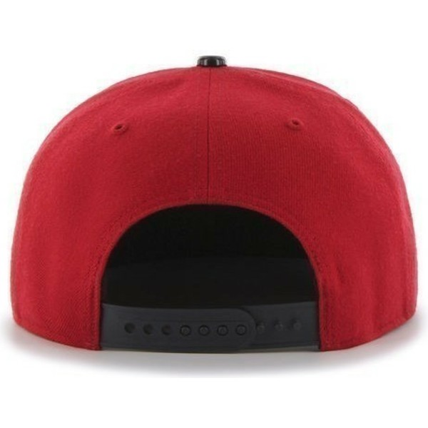 47-brand-flat-brim-shiny-visor-mlb-new-york-yankees-red-snapback-cap