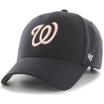 47 Brand Curved Brim NHL Washington Nationals Smooth Navy Blue Cap