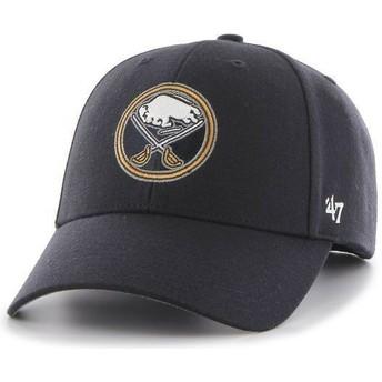47 Brand Curved Brim NHL Buffalo Sabres Navy Blue Cap