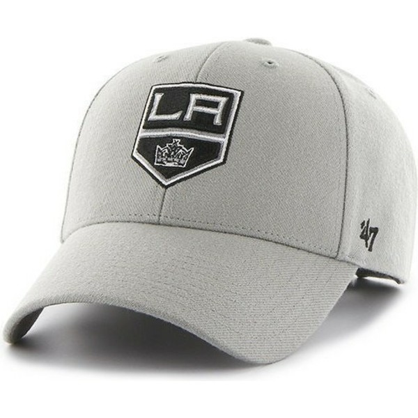 47-brand-curved-brim-nhl-los-angeles-kings-grey-cap