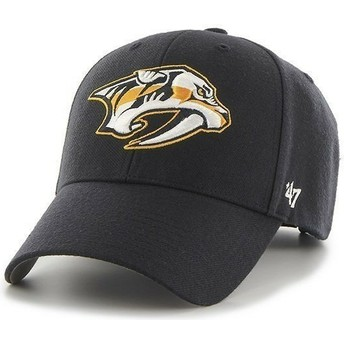 47 Brand Curved Brim NHL Nashville Predators Navy Blue Cap