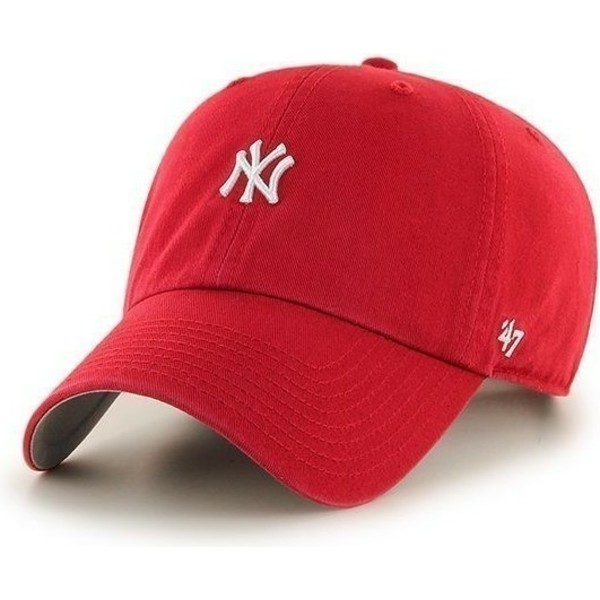 47-brand-curved-brim-small-logo-mlb-new-york-yankees-red-cap