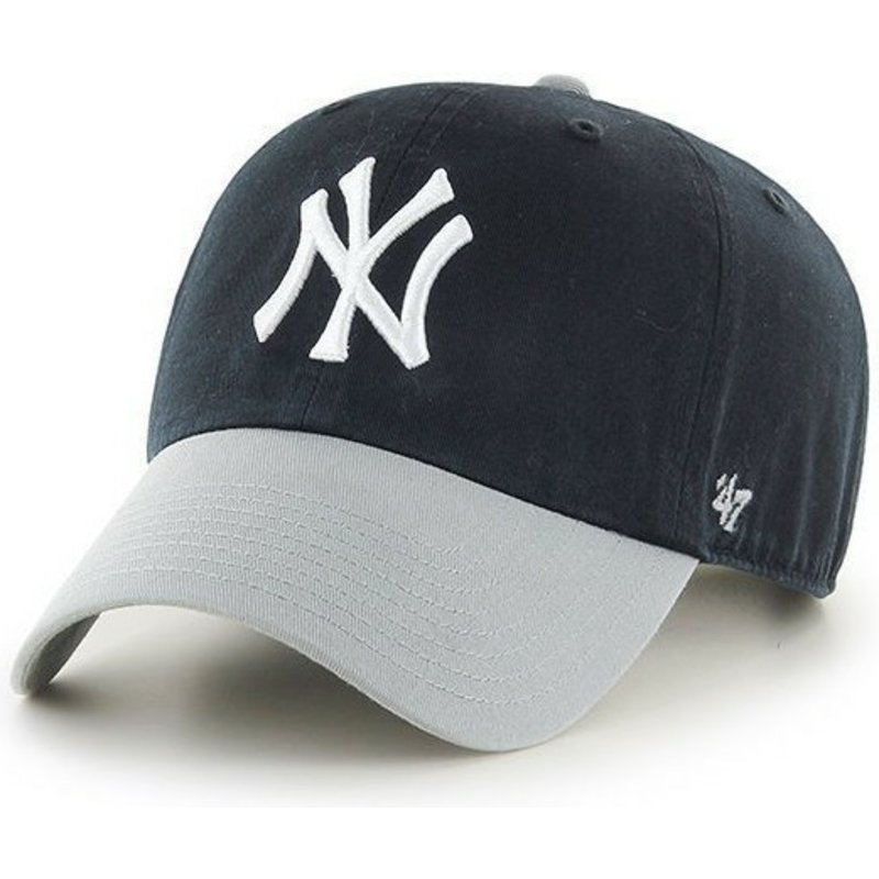 47-brand-curved-brim-large-front-logo-new-york-yankees-black-cap-with-grey-visor