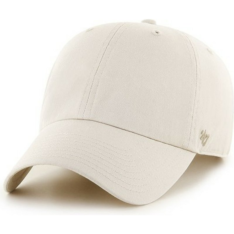47-brand-curved-brim-smooth-cream-cap