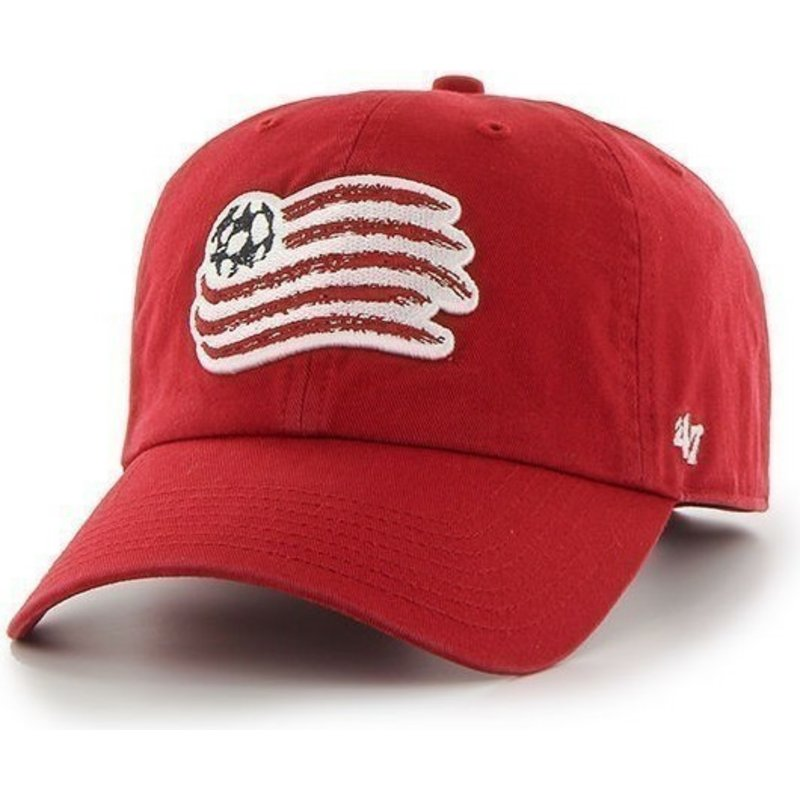 47-brand-curved-brim-large-front-logo-new-england-revolution-fc-red-cap