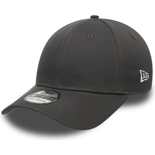 new-era-curved-brim-dark-grey-39thirty-basic-flag-grey-fitted-cap